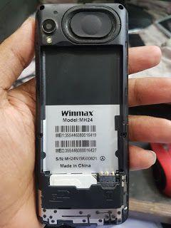 Firmware Status Bin Winmax MH24 Boot Key - Home * Button Dow