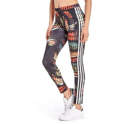adidas Originals Rita Ora Trapeze Leggings (€38) ❤ liked on