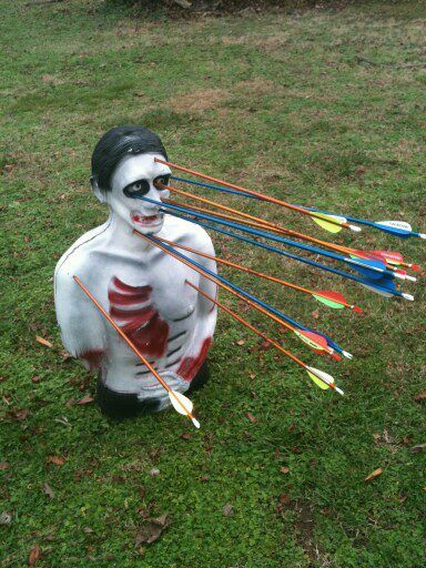 Undead Fred Bleeding Zombie Target 3D Archery Practice On Targets ...
