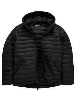 The North Face Boys Aconcagua Down Jacket in Black