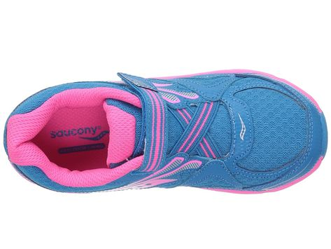 Saucony Kids Baby Ride 9 (ToddlerLittle Kid) Girls Shoes