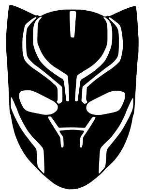 Black Panther Vinilo Coche Calcomania Pegatina De Telefono Portatil Elegir Talla Color Black Panther Drawing Black Panther Marvel Black Panther Face