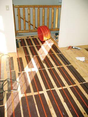 Solar Heating Plan For Any Home Shed Homes House Heating Radiant Floor Heating