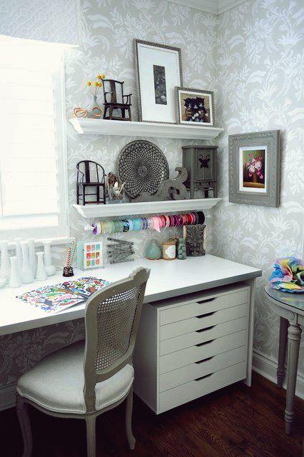 15 Shabby Chic Home Office Designs Die Sie Motivieren Mehr Zu