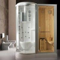 Doccia Con Sauna E Bagno Turco.Pin Su Idee Per Il Bagno
