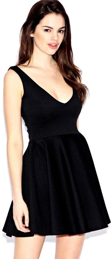 Boohoo Blake Fit And Flare Dress On Shopstyle Com With Images