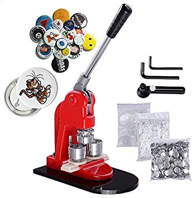 1000 Pin Back Button Parts 2-1//4 2.25 Inch Standard Tecre Button Maker Machine