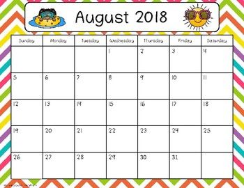 2019 2021 Calendar Freebie Lesson Plan Book School Calendar Calendar