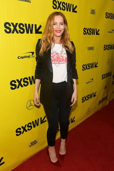 Leslie Mann attends the 'Blockers' Premiere 2018 SXSW Conference and Festivals at Paramount Theatre.