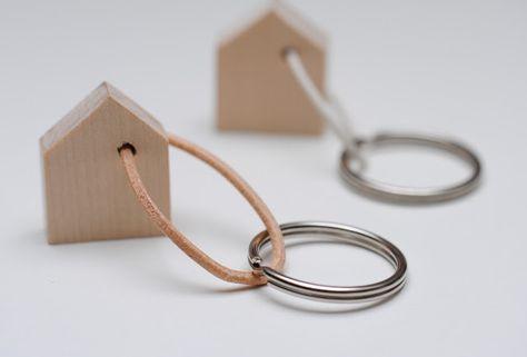 miniKUNST.: DIY Schlüsselhäuschen - ich brauch dringend einen neuen, handschmeichelnden Schluesselanhaenger...