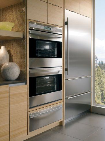 All Wolfwalovens Are Convectionovens As Well As The Electrical Oven Located In The Wolfdualfuel Ra Modern Kitchen Design Wall Oven Kitchen Kitchen Interior