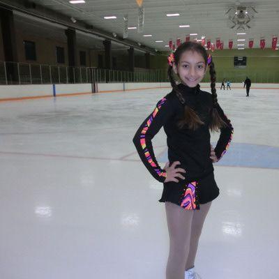 Figure Skating flair skirt | Skating Designs Mix and Max Figure Skating Outfit - Ice Skating Skirt ...