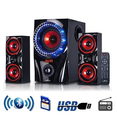 2.1 Bluetooth Powerful Home Theater Speaker System with FM ... Boytone BT-326F