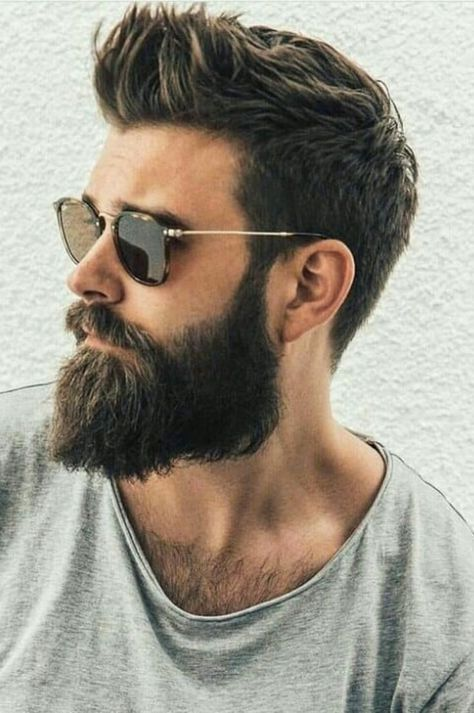 Beard styles, Mens hairstyles, Hair and beard styles, Hair cuts, Beard hairstyle, Ducktail beard - Men Hair Style What Are Common Male Hair Problems And Solutions  2019  Page 9 of 30  eeasyknitting  c -  #Beardstyles
