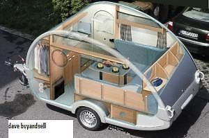 build your own teardrop trailer small caravantinylittleplans - Tiny Camping Trailers