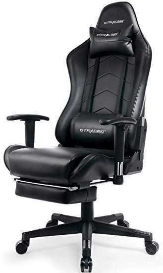 Ergonomic Office Chair With Footrest In 2020 Gaming Chair Ergonomic Office Chair Lumbar Support Cushion