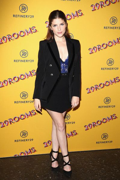 Anna Kendrick attends Refinery29's 29Rooms San Francisco: Turn It Into Art Opening Party 2018.