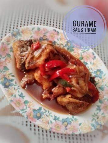 Resep Gurame Saus Tiram Oleh Indah Triwiartuti Resep Saus Tiram Makanan Resep
