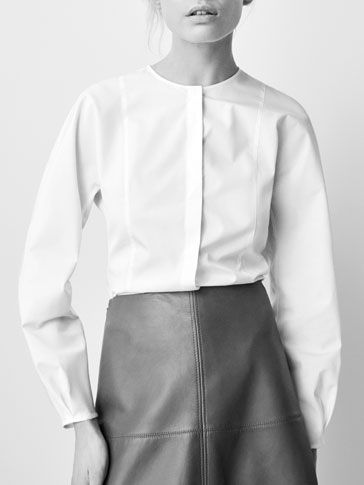 Pin de Josefina Bornay en Camicie. | Camisas mujer blanca