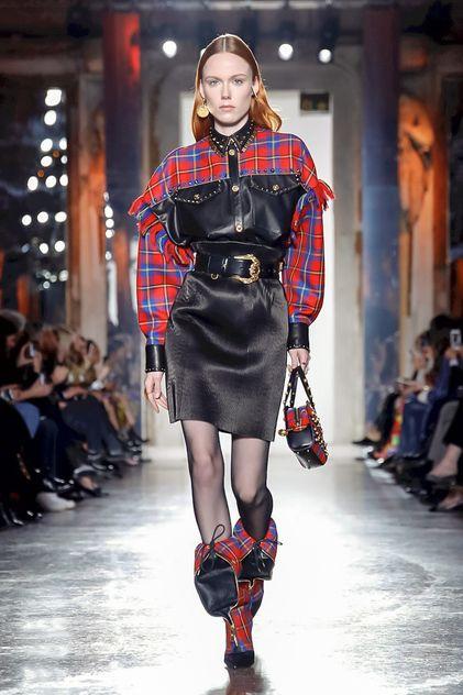 Versace Ready To Wear Fall Winter 2018 Milan