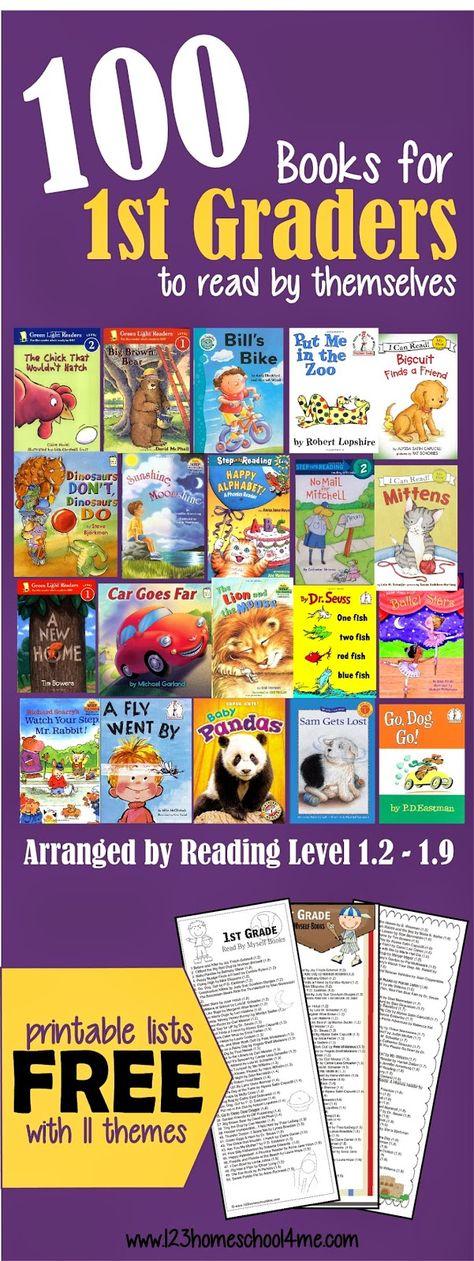 1st grade book list