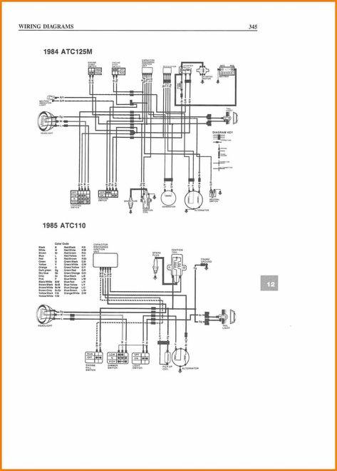 Chinese Quad Electrical Diagram : 110 Atv Wiring Diagram