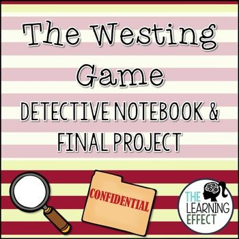 The Westing Game Detective Notebook & Final Project | The Learning Effect