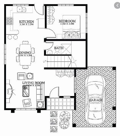 House Floor Plan Design Philippines Denah Rumah Rumah Indah Arsitektur