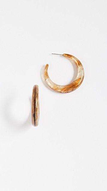 Shashi Tortoise Hoop Earrings Jewelry Ads Hoop Earrings Jewelry