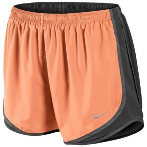 uk availability cheapest new lower prices Nike Tempo Shorts - Damen - Atomic Orange / Dunkelgrau ...