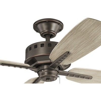 Kichler 310152 Eads 52 Indoor Outdoor Ceiling Fan With Blades