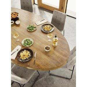 Evans 98 Oval Dining Table Oval Table Dining Oval Dining Room