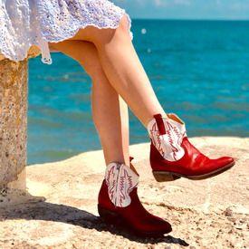 stivaletti texani donna moda primavera