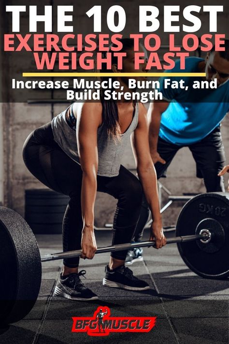 Best Exercises To Lose Weight Fast (The Ultimate Guide)