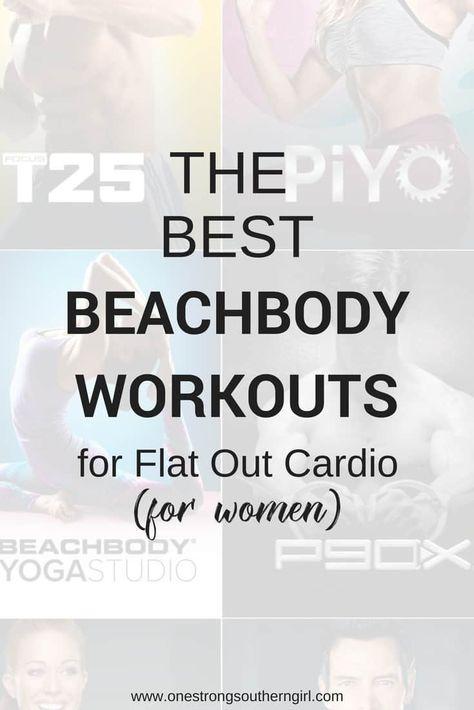 The Best Beachbody Cardio Workouts For Women Women Cardio