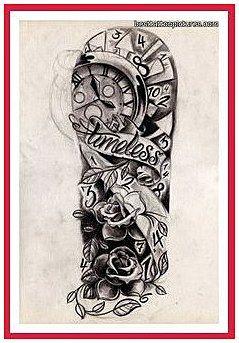 Menssleevetattoo Sleevetattoos Half Sleeve Tattoos For Men Black And Grey Half Sleeve Tat Tattoo Sleeve Designs Sleeve Tattoos Half Sleeve Tattoos Drawings