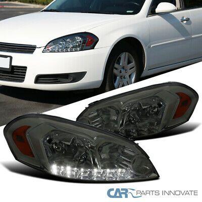 Ad Ebay For Chevy 06 13 Impala 06 07 Monte Carlo Led Strip Smoke Lens Tinted Headlights Impala Chevy Monte Carlo
