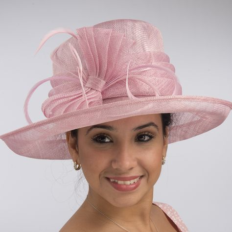 717b5412c77 This medium sinamay hat is an elegant addition to your closet. The bow is…