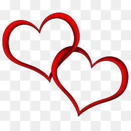 Two Big Hearts Heart Clip Art Wedding Symbols Free Clip Art