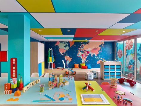Kids club hotels for kids, kindergarten interior, kindergarten design, kids