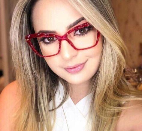 Pin Em Oculos De Grau Vermelho