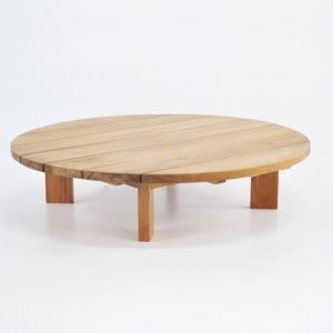 Soho Teak Outdoor Coffee Table Round 0 Outdoor Coffee Tables