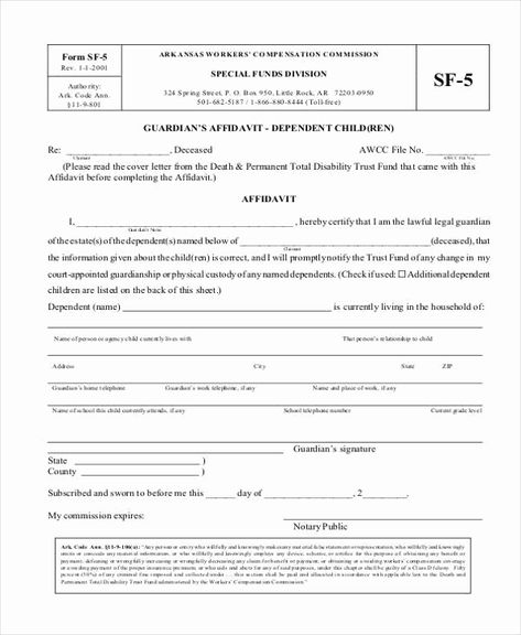 Free Temporary Guardianship form Awesome Guardianship forms