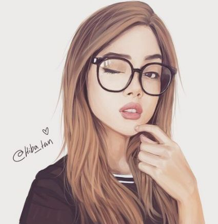 46 Ideas For Drawing Girl With Glasses Beautiful Glasses