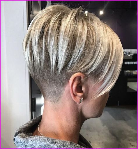 45 Inspiring Pixie Undercut Hairstyles, The pixie undercut trend continues to be a favorite amongst women who love pixie. Few words enough to describe pixie undercuts; brave and full of fun...., Pixie Cuts
