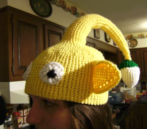 Blue Pikmin Hat pattern only