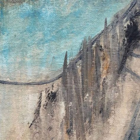 Original Animal Painting by Matt Rippon | Abstract Art on Canvas | VIEIL AMI / Old Friend