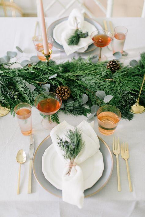 1001 Idees Diy De Decoration De Table De Noel A Faire Soi