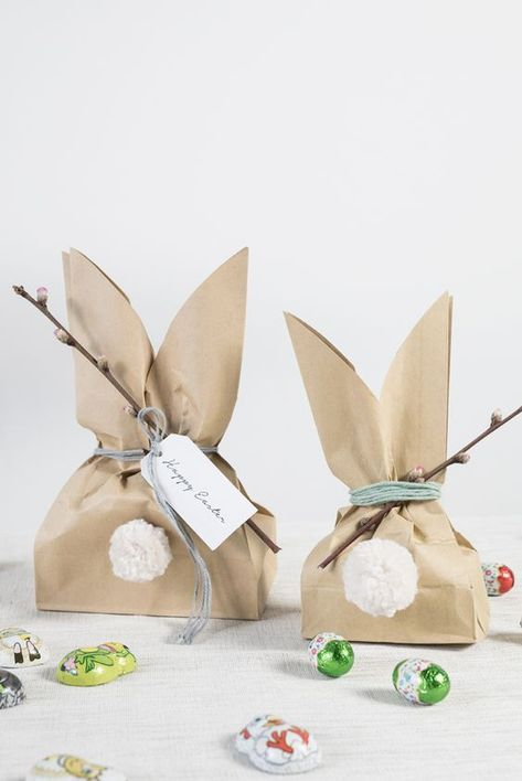 : Make homemade Easter bunny bags for kids DIY easter bunny goody bags. A fun easter project by Søstrene GreneDIY easter bunny goody bags. A fun easter project by Søstrene Grene Goody Bags, Easter Projects, Easter Crafts, Diy Projects, Diy Easter Bags, Easter Decor, Easter Gifts For Kids, Bunny Crafts, Fun Easter Ideas
