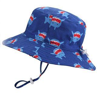 0d778a9f0 Baby Sun Hat Adjustable - Outdoor Toddler Swim Beach Pool Hat Kids ...